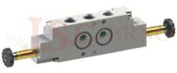 08V S1 5... - elektromagnetický ventil 5/2 dvoucívkový -bistabilní