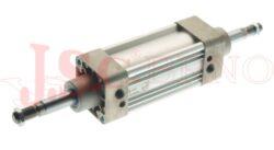 Válec EL....G ISO 6431 série E - dvoučinný, s magnetem a tlumením, 2 pístní tyče