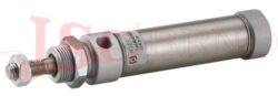 Válec MFX..... Mini ISO6432 - dvoučinný, s magnetem, zkrácené čelo, přívod v ose
