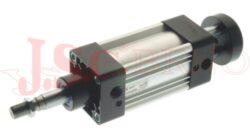 Válec NLA.... ISO 15552 řada N - dvoučinný, s magnetem a tlumením, 2 pístní tyče