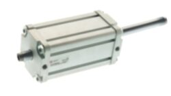 Válec PJ....H ISO 15552 řada P - dvoučinný, s magnetem, 2 pístní tyče