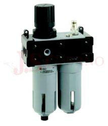 T100 - regulátor tlaku s filtrem a přimazávačem (velikost FR+L 1-3)