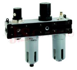 T210 - ventil odpojení, filtr, regulátor a přimazávač (vel. V+F+R+L 1-3)