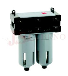 T400 - koalescenční filtr 5µm + 0,01µm s odkalováním (velikost FIL+FC 1-3)