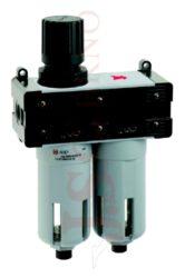 T450 - regulátor s koalescenčním filtrem 5µm+0,01µm a odkalováním (FR+FC 1-3)