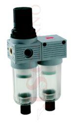 T450 MINI - regulátor s koalescenčním filtrem 5µm+0,01µm a odkalováním (FR+FC 0)