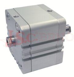 Válec WJ..... řada COMPACT ISO 21287 - dvoučinný, s magnetem, 2 pístní tyče