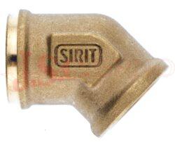 645..... adaptér úhlový 45° s vnitřním metrickým závitem, typ B