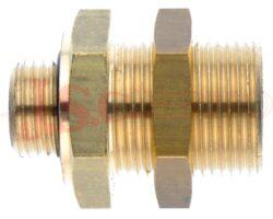 703..... přípojka panelová (závity - vnitřní / vnější / panel)