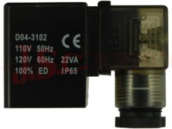 Cívka SLP s konektorem A/30mm, LED, DIN43650A