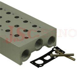 ESYx-... základová deska pro elmag.ventil včetně šroubků a těsnění