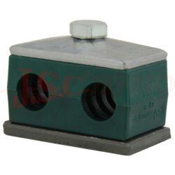 GD 5D krycí horní deska (pro dvojitý držák DN 32 - 42)