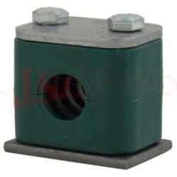 PP 322 polypropylenový držák DN22 (1pár)