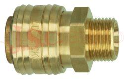 ES.....A - rychlospojka zásuvka s vnějším závitem - DN 7,2mm