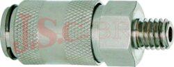 ESMC.....A - rychlospojka zásuvka s vnějším závitem - DN 2,7mm