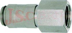ESMC.....I - rychlospojka zásuvka s vnitřním závitem - DN 2,7mm