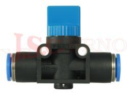 HE-3-QS-..... uzavírací ventil 3/2 plastový