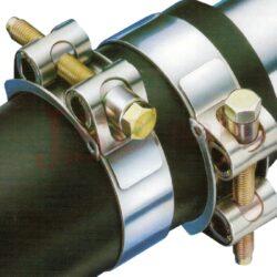 GBS.....W1 SK hadicová spona s kloubovými svorníky (rozsah v mm)-W4 - celonerezová