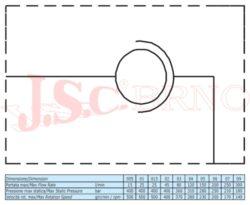 "GG90 05 spojka otočná 230 ot/min, 150l/min, 280bar, (G1"")"
