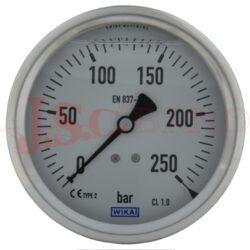 """MG3 100..... glycerinový manometr 100mm se zadním vývodem 1/2"""""""