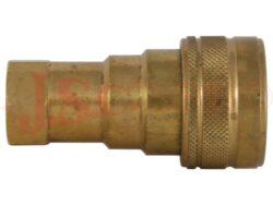 PBVM.xxxx.002 MOSAZNÁ zásuvka kuličková s vnitřním závitem