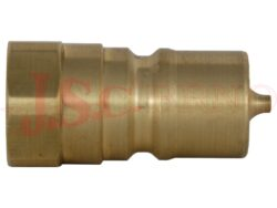 PBVM.xxxx.003 MOSAZNÁ zástrčka kuličková s vnitřním závitem