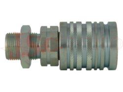 PPV3.xxxx.502 zásuvka kuličková, prodloužený závit, lehká řada
