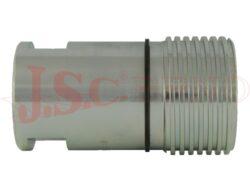 PVR1.xxxx.002 zásuvka šroubovací s vnitřním palcovým závitem