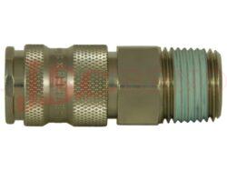 25KA AK... zásuvka s vnějším kuželovým závitem, profil EU DN 7,6 (průtok 32 l/s)