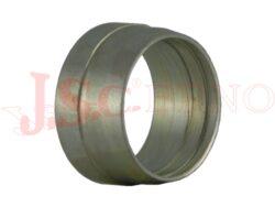 P-R..... zářezný profilový prsten DIN-Zářezný profilový prsten pro trubky. Číslice označuje vnější průměr trubky.