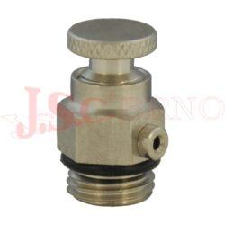 5040... manuální odvzdušňovací ventil kovový