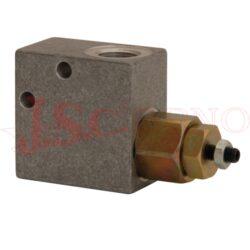 VMD20..... pojistný ventil s vnitřními palcovými závity, průtok 20l/min
