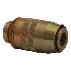 VRB..... škrtící ventil obousměrný s vnitřními palcovými závity, oválný