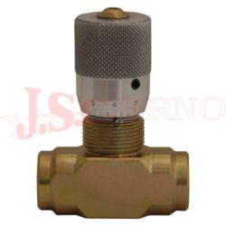 VRFB90..... škrtící ventil obousměrný s vnitřními palcovými závity