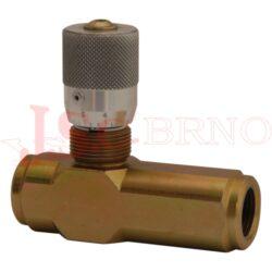 VRFU90..... škrtící ventil jednosměrný s vnitřními palcovými závity